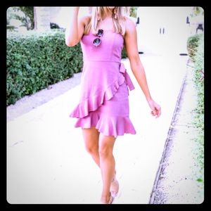 Pink Lily Know You Like I Do Berry Dress